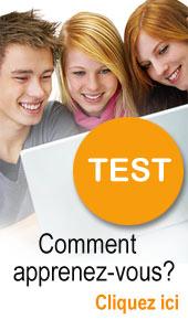 test les 7 profils d'apprentissage